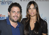 Brett Ratner and Alina Puscau during 4th Annual VH1 Save The Music Hamptons Benefit Concert July 28 2006 at East Hampton New York in East Hampton New...