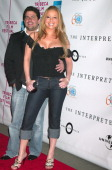 Brett Ratner and Mariah Carey during 4th Annual Tribeca Film Festival 'The Interpreter' Premiere at Ziegfeld Theater in New York City New York United...