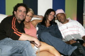 Brett Ratner Paris Hilton Nicky Hilton and Russell Simmons