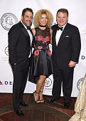 Brett Ratner Sivan Levi and Bruce Charet attend as the Friars Club Honors Tony Bennett With The Entertainment Icon Award Arrivals at New York...