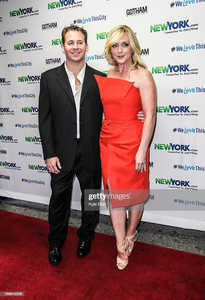 Brett Reizen and <a gi-track='captionPersonalityLinkClicked' href=/galleries/search?phrase=Jane+Krakowski&family=editorial&specificpeople=203166 ng-click='$event.stopPropagation()'>Jane Krakowski</a> attend the NewYork.com Launch Party at Arena on May 29, 2013 in New York City.