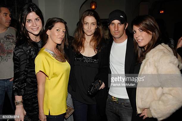 Brett Weisman Jennifer Raines Fernanda Niven Matt Halliday and Jessica Meisels attend NICOLAS BERGGRUEN's Annual Party at Chateau Marmont at Chateau...