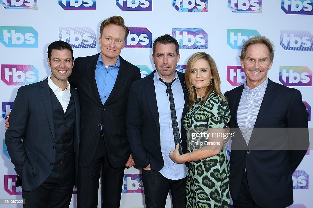 Brett Weitz Conan O'Brien Jason Jones Samantha Bee and Jere Burns attend TBS's A Night Out With For Your Consideration Event at The Theatre at Ace...