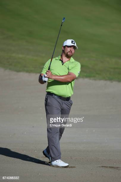 Brett White of the United States hits from the first hole during the second round of the PGA TOUR Latinoamérica Honduras Open presented by Indura...