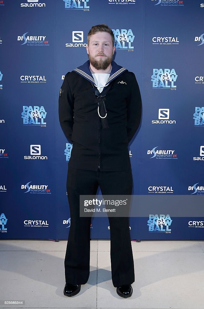 Brett Wild attends ParaSnowBall 2016 Disability Snowsport UK sponsored by Crystal Ski Holidays and Salomon, at The Hurlingham Club on April 28, 2016 in London, England.