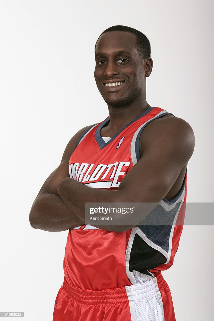 Brevin Knight #22 of the Charlotte Bobcats poses for a portrait during NBA Media Day on October 12, 2004 in Charlotte, North Carolina.
