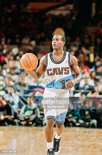 Brevin Knight of the Cleveland Cavaliers during the 1998 NBA Rookie game on February 8 1998 at Madison Square Garden in New York City