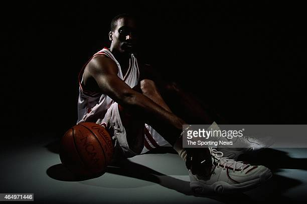Brevin Knight of the Stanford Cardinals poses for a photo on November 5 1996