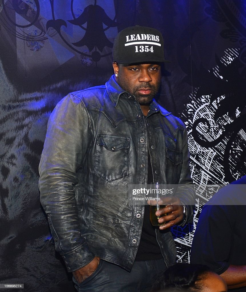 Breyon Prescott attends party hosted by LaLa at Reign Nightclub on November 23, 2012 in Atlanta, Georgia.