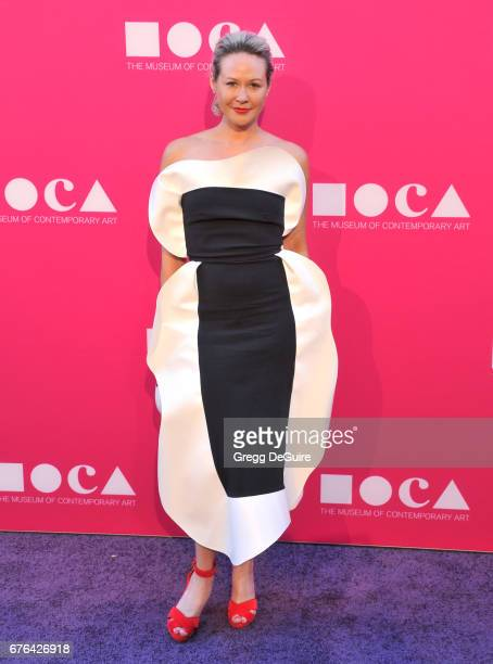 Bri Holloway arrives at the MOCA Gala 2017 at The Geffen Contemporary at MOCA on April 29 2017 in Los Angeles California