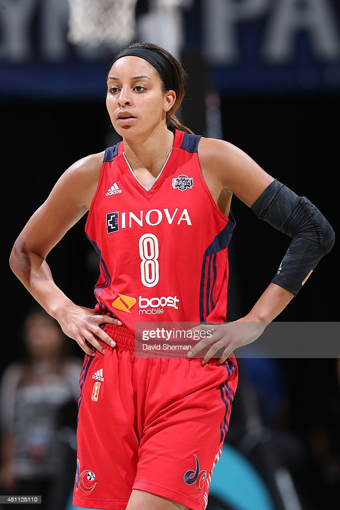 Bria Hartley of the Washington Mystics during the game against the Minnesota Lynx on June 20 2014 at Target Center in Minneapolis Minnesota NOTE TO...