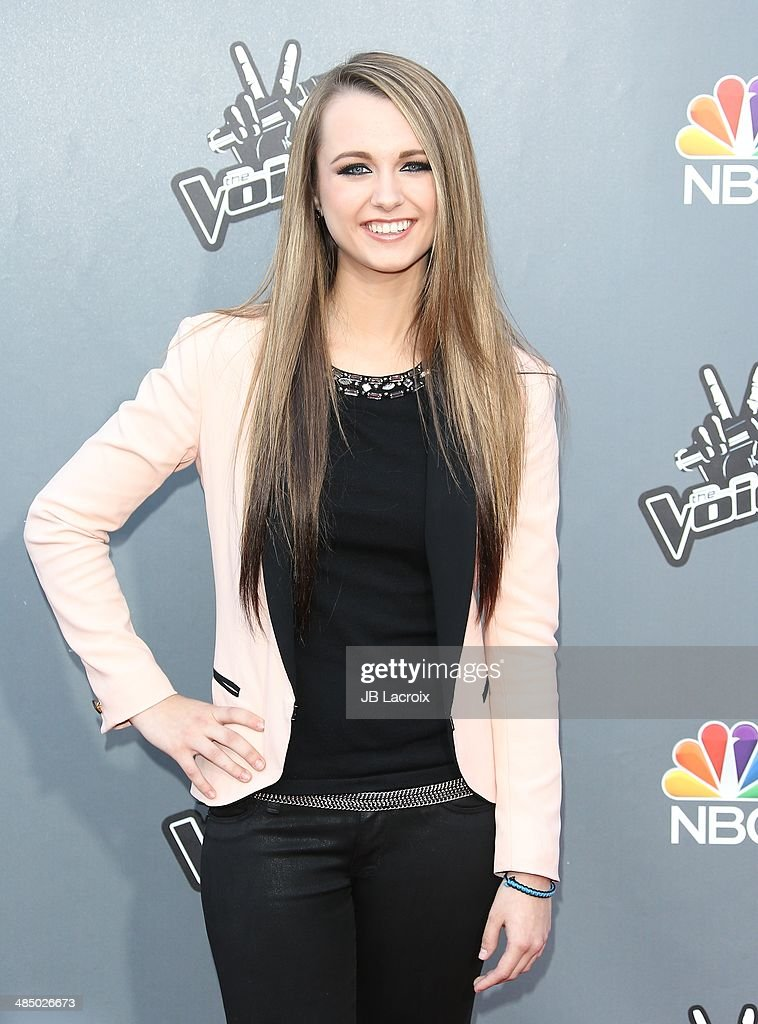 <a gi-track='captionPersonalityLinkClicked' href=/galleries/search?phrase=Bria+Kelly&family=editorial&specificpeople=9639490 ng-click='$event.stopPropagation()'>Bria Kelly</a> attends 'The Voice' Season 6 Top 12 Red Carpet Event on April 15, 2014 in Universal City, California.
