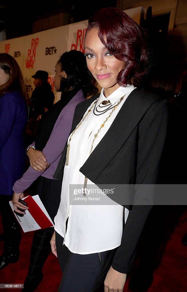 Bria Murphy attends BET's Rip The Runway 2013 at Hammerstein Ballroom, on February 27, 2013, in New York City.