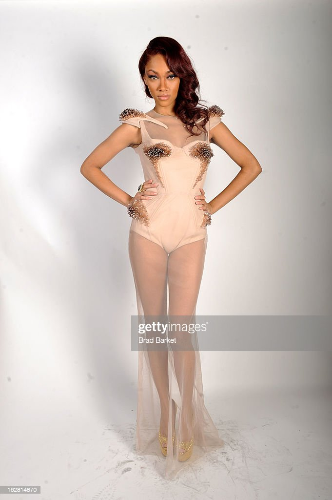 Bria Murphy attends BET's Rip The Runway 2013:Backstage Hammerstein Ballroom on February 27, 2013 in New York City.