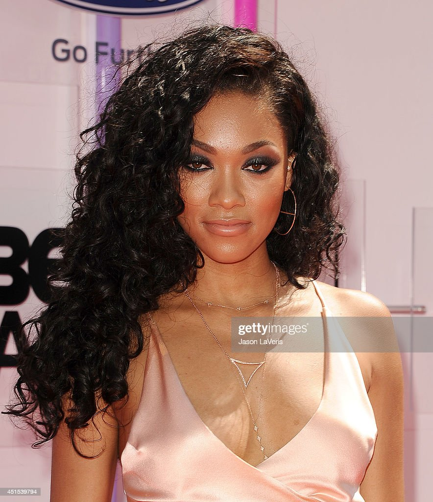 Bria Murphy attends the 2014 BET Awards at Nokia Plaza L.A. LIVE on June 29, 2014 in Los Angeles, California.