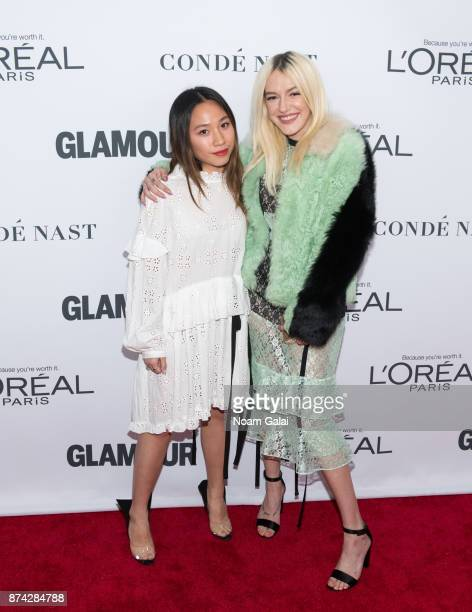 Bria Vinaite attends the 2017 Glamour Women of The Year Awards at Kings Theatre on November 13 2017 in New York City
