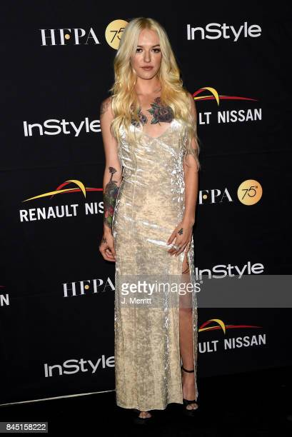 Bria Vinaite attends The Hollywood Foreign Press Association and InStyle's annual celebrations of the 2017 Toronto International Film Festival at...