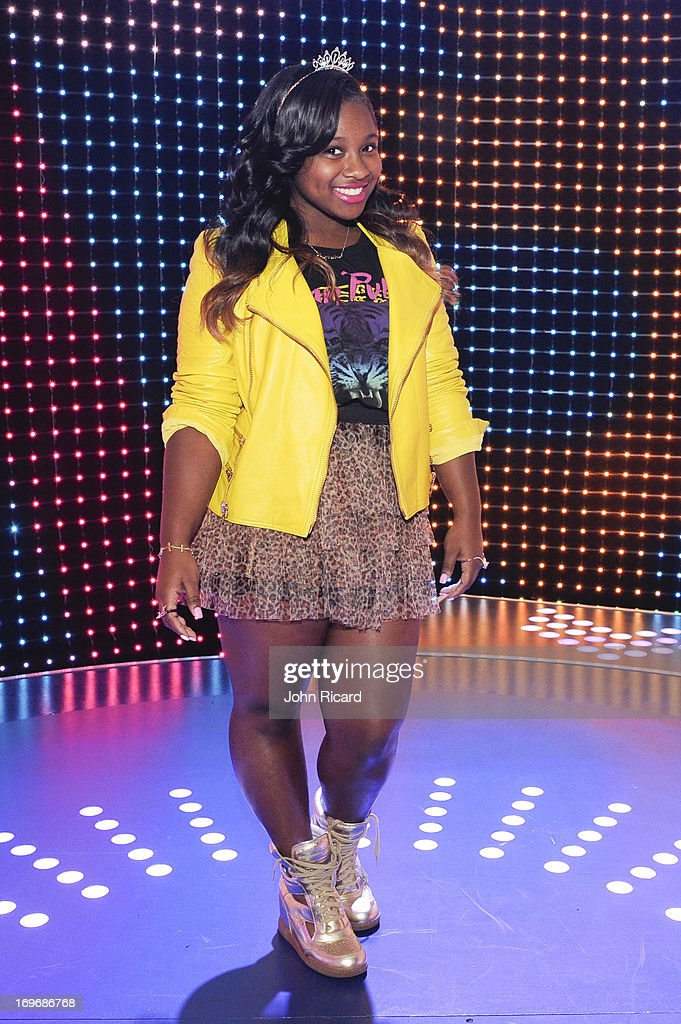 Bria Williams visits BET's '106 & Park' at BET Studios on May 30, 2013 in New York City.