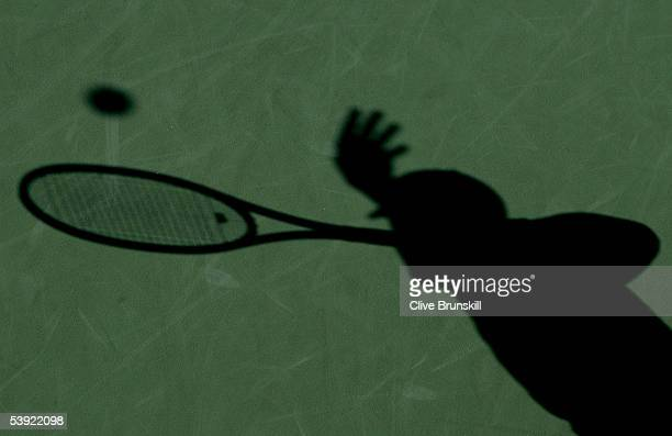 Brian Baker serves to Xavier Malisse of Belgium during the second round of the US Open at the USTA National Tennis Center in Flushing Meadows Corona...