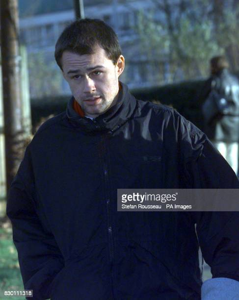 Brian Basquill arriving at Basildon Crown Court today December 16 where he alleges that he was attacked by Bill Murray who plays Detective Sergeant...
