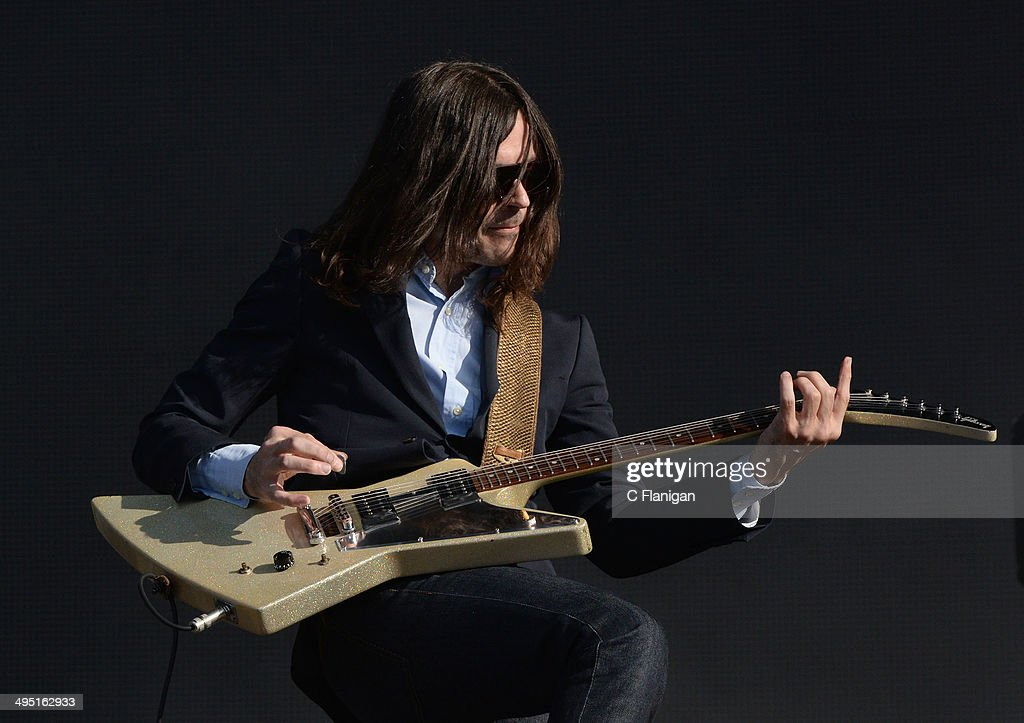 Brian Bell of Weezer performs during the 2014 Bottlerock Music Festival on May 31, 2014 in Napa, California.