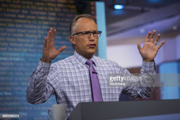 Brian Belski chief investment strategist for BMO Capital Markets Corp speaks during a Bloomberg Television interview in New York US on Tuesday June...