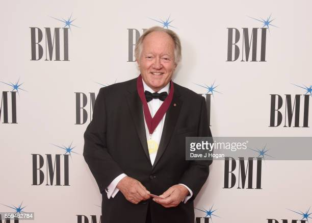 Brian Bennett attends the BMI London Awards at The Dorchester on October 9 2017 in London England