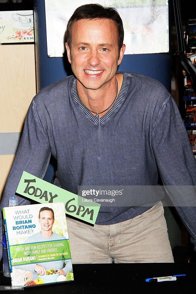 "Brian Boitano Signs Copies Of His Book ""What Would Brian Boitano Make?"""