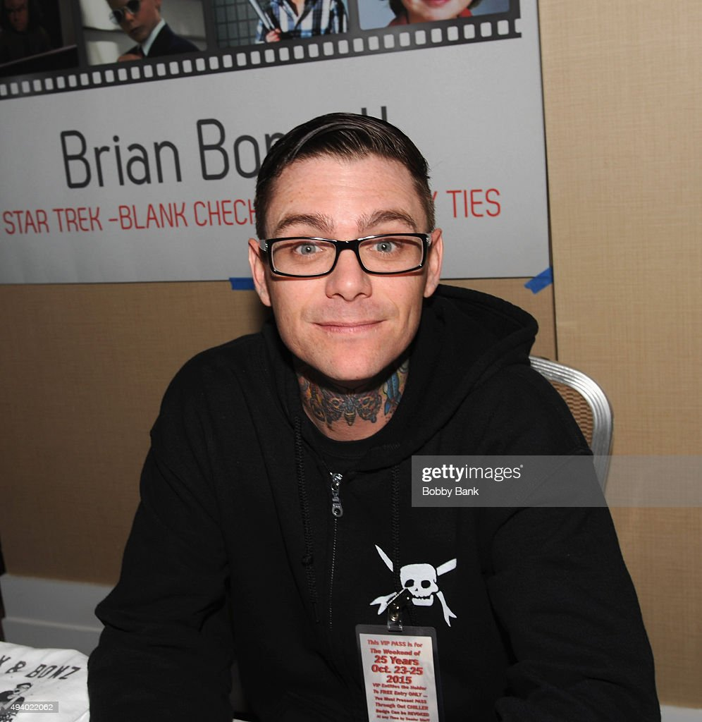 Brian Bonsall attends Day 1 of the Chiller Theatre Expo at Sheraton Parsippany Hotel on October 23, 2015 in Parsippany, New Jersey.