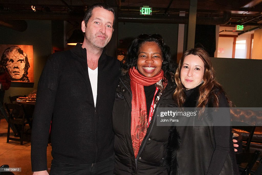 Brian Bumberry (L) and guest attend the Nokia Music, Spin Sundance Channel and SomeSuch & Co Present New American Noise on January 18, 2013 in Park City, Utah.