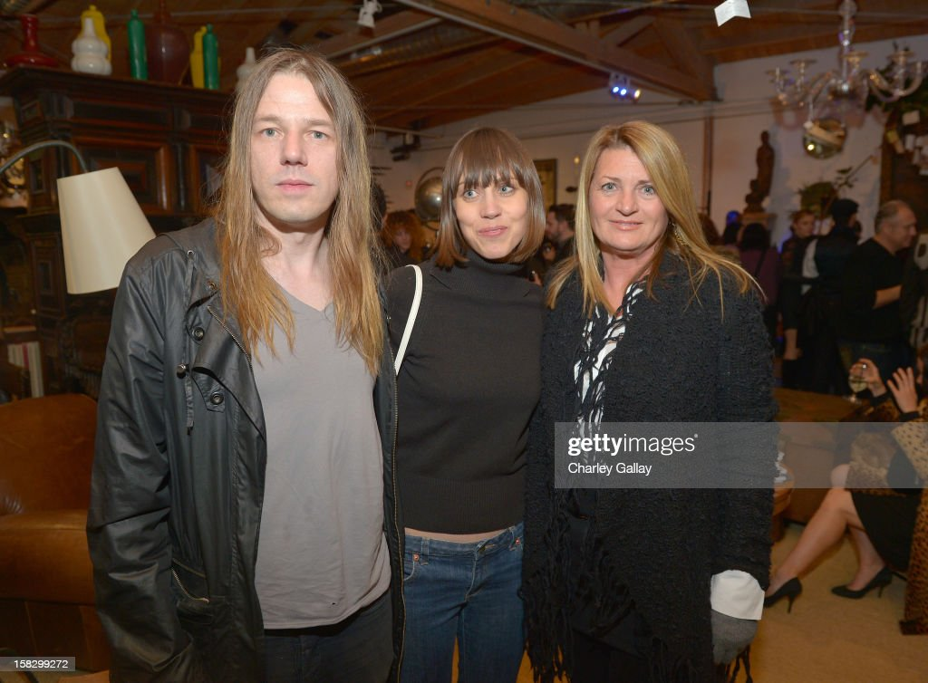 Brian Butler, Amber Grandalen and Marilyn Heston attend High Fashion/2013 MOE Aliona Kononova Collection, brought to you by the all-new Lincoln MKZ, hosted by Joel Chen and Lyn Winter at C Project on December 12, 2012 in Los Angeles, California.