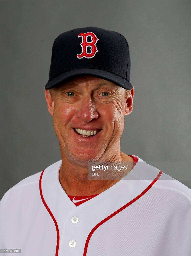 Brian Butterfield #13 of the Boston Red Sox poses for a portrait during Boston Red Sox Photo Day on February 23, 2014 at JetBlue Park in Fort Myers, Florida.