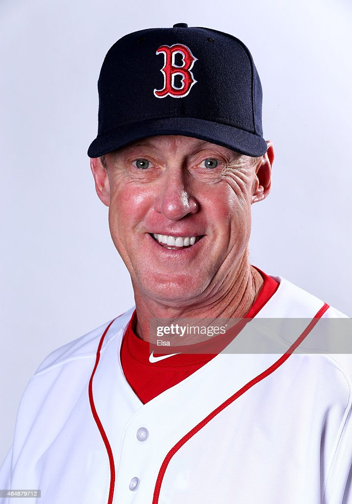 Brian Butterfield #55 of the Boston Red Sox poses for a portrait on March 1, 2015 at JetBlue Park in Fort Myers, Florida.
