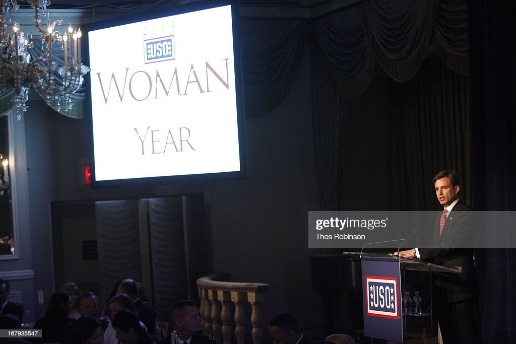 Brian C. Whiting, president and CEO of USO of Metropolitan New York attends the USO Woman Of The Year Luncheon at The Pierre Hotel on May 2, 2013 in New York City.