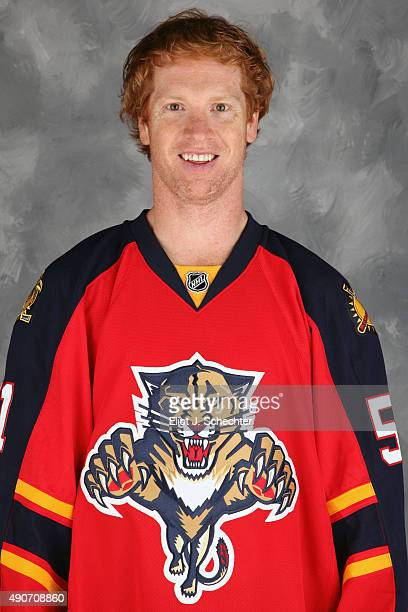 Brian Campbell of the Florida Panthers poses for his official headshot for the 20152016 season on September 17 2015 at the BBT Center in Sunrise...