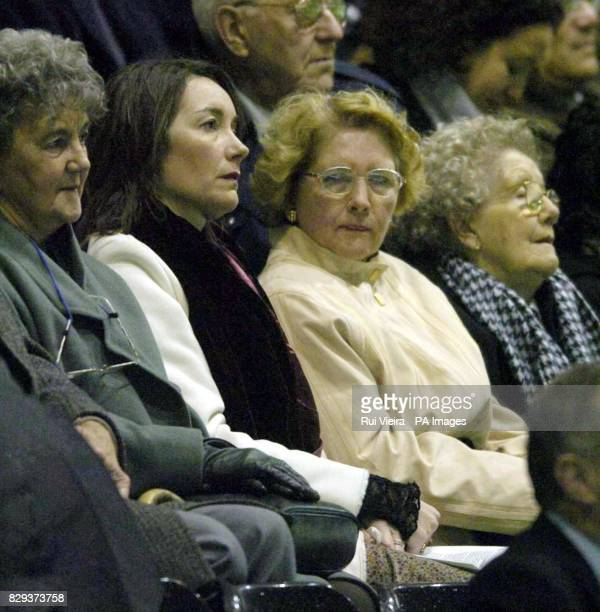 Brian Clough's wife Barbara and daughter Elizabeth at his memorial service at Derby's Pride Park stadium Derby The city's cathedral was just not...