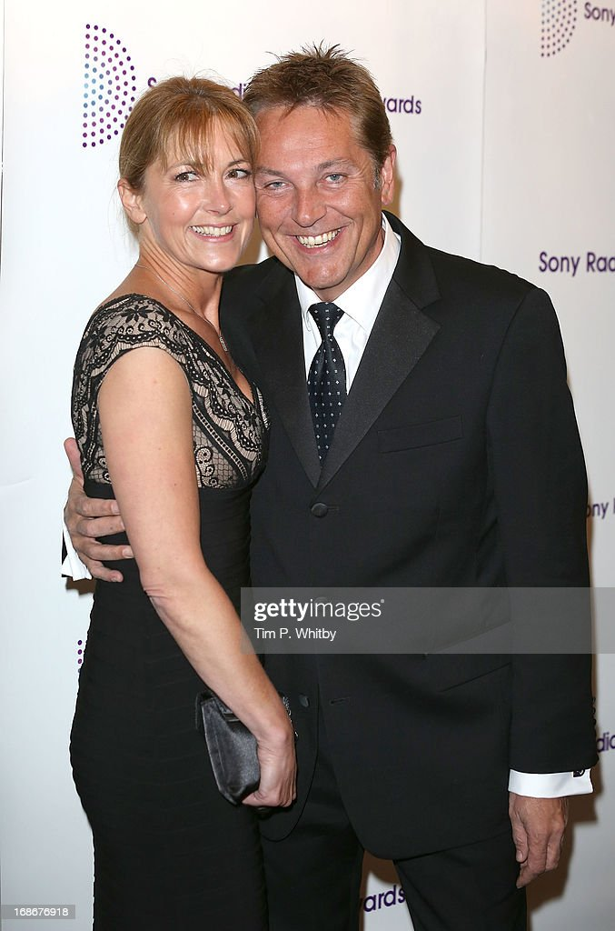 Brian Conley and guest attend the Sony Radio Academy Awards at The Grosvenor House Hotel on May 13, 2013 in London, England.