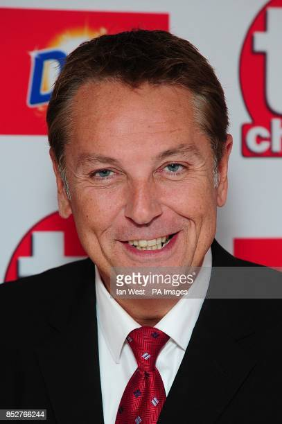 Brian Conley arriving for the 2013 TV Choice awards at the Dorchester Hotel London