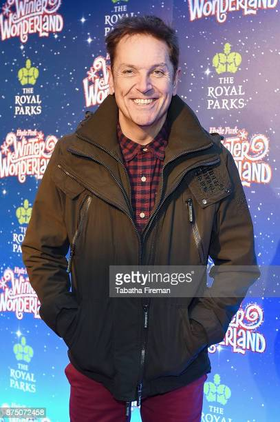 Brian Conley attends the Winter Wonderland VIP launch night at Hyde Park on November 16 2017 in London England