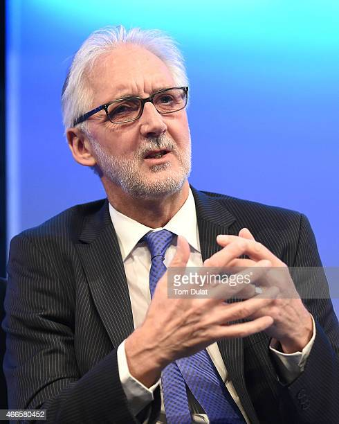 Brian Cookson President of the UCI speaks during the Sport Industry Breakfast Club powered by CWM FX on March 17 2015 in London England