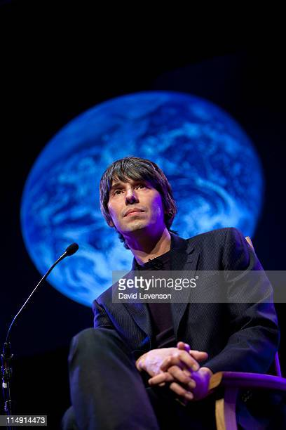 Brian Cox Physicist and TV Presenter attends the Hay Festival on May 28 2011 in HayonWye Wales