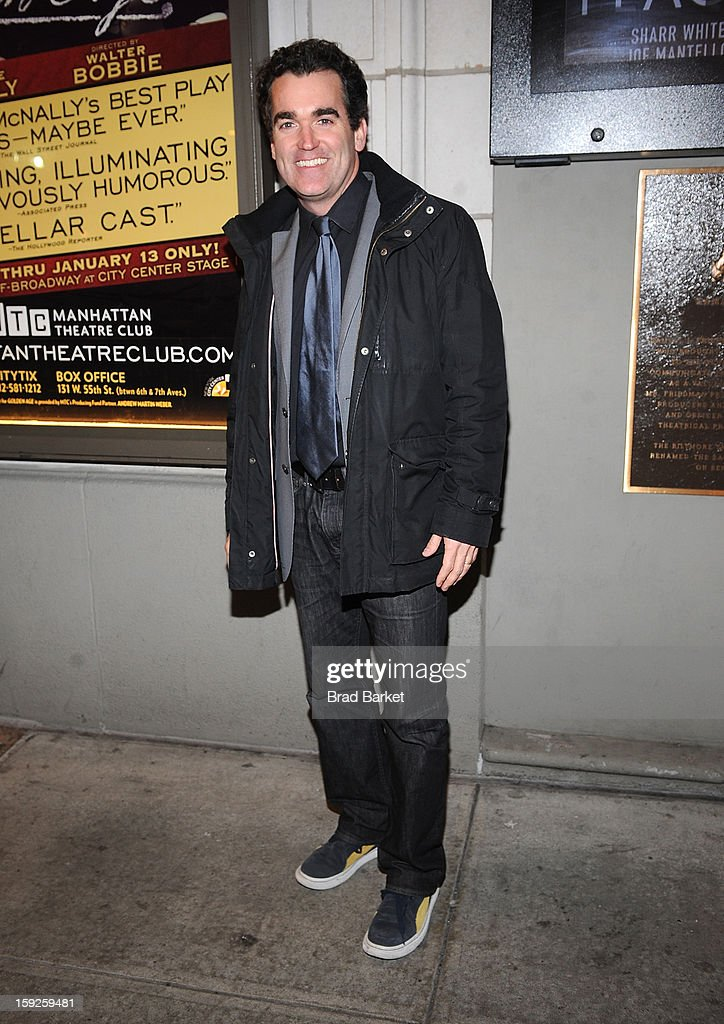 Brian D'Arcy James attends 'The Other Place' Broadway opening night at Samuel J. Friedman Theatre on January 10, 2013 in New York City.