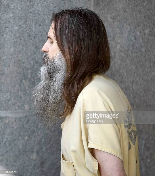Brian David Mitchell leaves the Federal Court House after Elizabeth Smart testified for the first time in a competency hearing for Mitchell her...