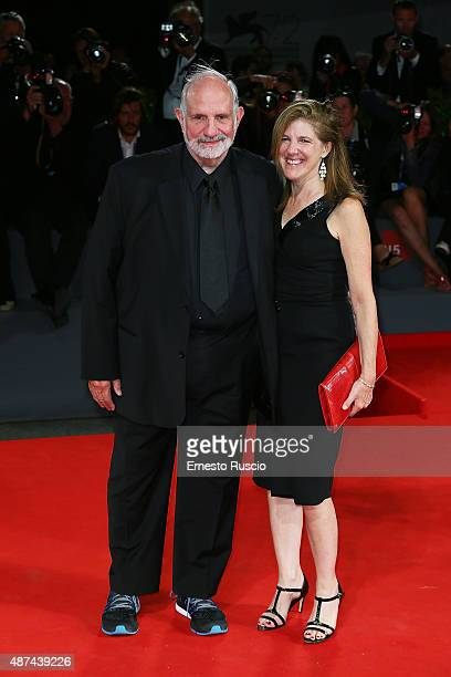 Brian De Palma and guest attend a premiere for 'De Palma' and JaegerLeCoultre Glory to the Filmmaker 2015 Award during the 72nd Venice Film Festival...