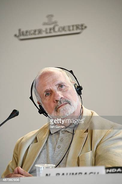 Brian De Palma attends a press conference for 'De Palma' And 'JaegerLeCoultre Glory To The Filmmakers 2015 Awards' during the 72nd Venice Film...