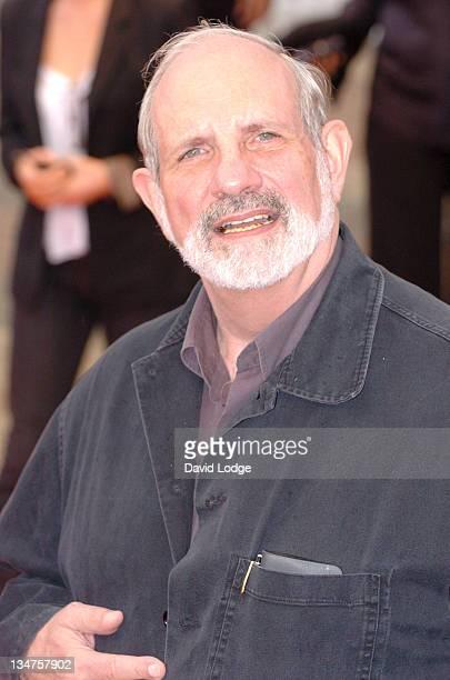 Brian De Palma director during 32nd Deauville Film Festival 'The Black Dahlia' Premiere at Deauville Film Festival in Deauville France