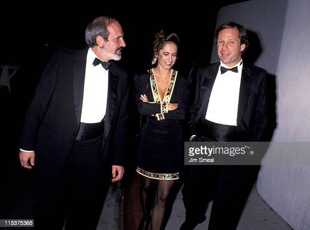 Brian De Palma Gale Anne Hurd and Michael Ovitz during 'The Russia House' Universal City Premiere December 4 1990 at Cineplez Odeon Theater in...