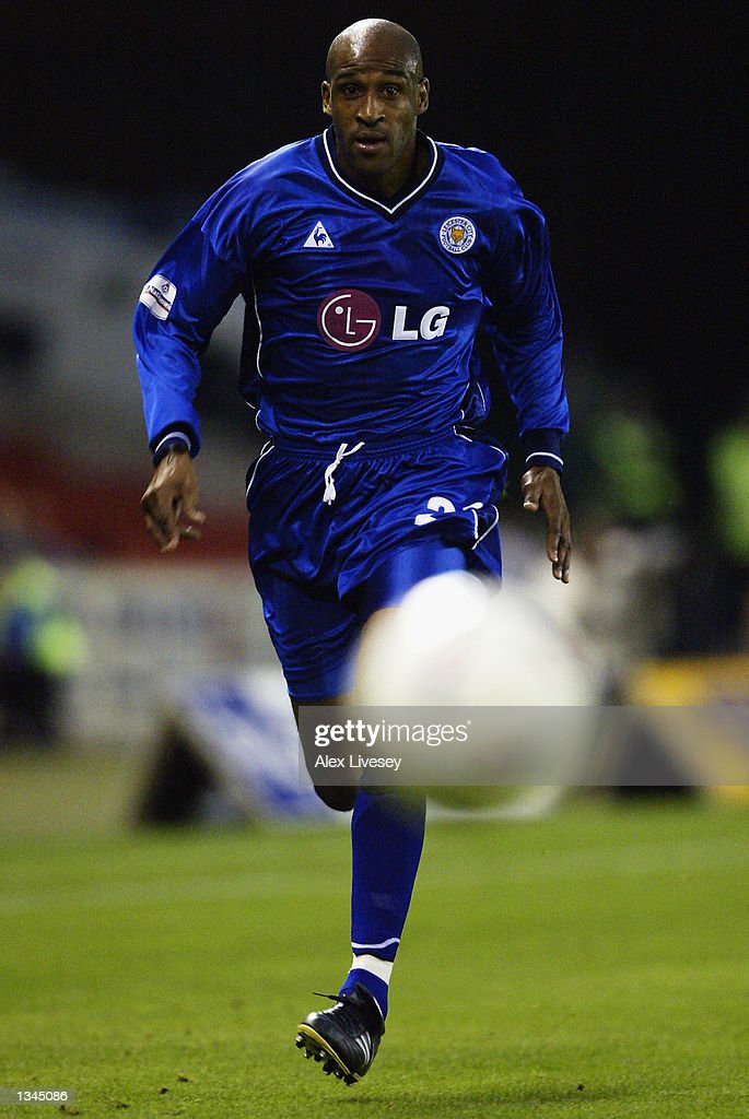 Brian Deane of Leicester City in action during the Nationwide First Division match between Stoke City and Leicester City at the Brittania Stadium in Stoke on 14 August, 2002.