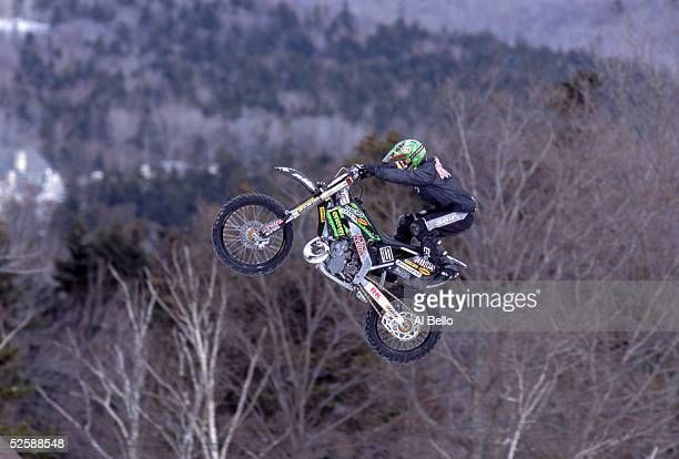Motorbike Jumping Stock Photos and Pictures   Getty Images