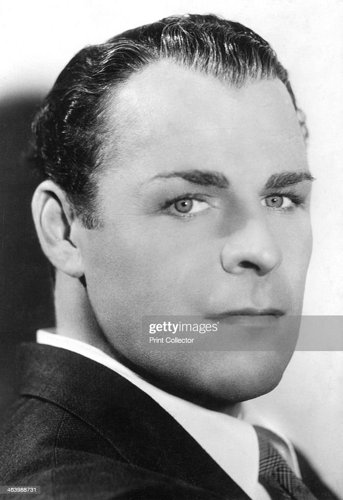 Brian Donlevy (1901-1972), American actor, c1930s-c1940s. Donlevy began his Hollywood career with the silent film A Man of Quality (1926) and went on to appear in over 80 films. In 1939 he received an Oscar nomination for Best Supporting Actor for his portrayal of the sadistic Sgt Markoff in Paramount's Beau Geste (1939).